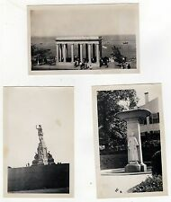 1940s PLYMOUTH MASSACHUSETTS Photograph Lot PHOTOS Rock PILGRIMS Monument  MASS