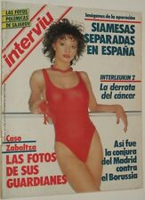 INTERVIU # 501 / LAURA DEL SOL NURIA ESPERT REAL MADRID CF Spanish magazine 1985