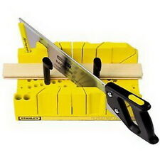 NEW Stanley 20-600 Clamping Mitre Box with Saw