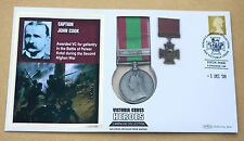 VICTORIA CROSS HEROES CAPTAIN JOHN COOK 2009 BENHAM REPLICA MEDAL COVER