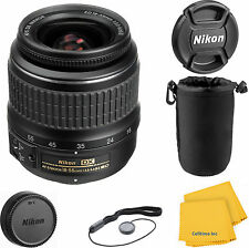 Nikon 18-55mm f/3.5-5.6G ED II AF-S DX Nikkor Zoom  Lens with pouch kit