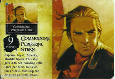 PIRATES SAVAGE SHORES - 011 COMMODORE PEREGRINE STERN