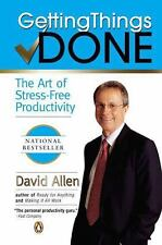 "NEW  ""GETTING THINGS DONE""  The Art of Stress-free Productivity by David Allen"