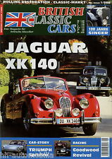 British Classic Cars 1 06 2006 Alvis Speed 25 Jaguar XK 140 Singer Roadster Auto