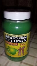 LEMON BODY WRAP CREAM 18 FL OZ  CREMA REDUCTORA DE LIMON 500 GR. NATURAMEX