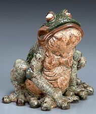 BURSLEM POTTERY GROTESQUE TERRANCE THE LOVELY TOAD INSPIRED BY MARTIN BROTHERS