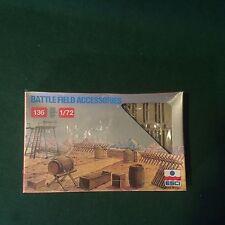 Military Minitures Battle Field Acessories Model Kit Miniatures NIB Sealed 1/72