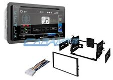 "NEW SOUNDSTREAM 6.2"" STEREO RADIO W/ INSTALL KIT W/ BLUETOOTH & W/ AUX & USB"