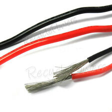 10m Black Red 12 AWG Soft Silicon Wire 6KV 200°c 3135