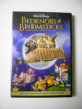 Bedknobs and Broomsticks Bednobs & Broomsticks DVD Angela Lansbury & Tomlinson