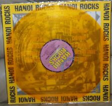 Hanoi Rocks - Bangkok Shocks Saigon Rocks USA LP Yellow Vinyl 1989 Uzi Suicide