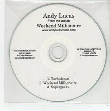 (FE850) Andy Lucas, Weekend Millionaire sampler - DJ CD