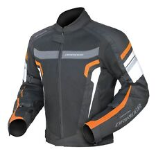 Mens Dririder Air Ride 3 Jacket KTM Orange Black Dri Rider Summer Vented Mesh