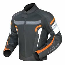 S Mens DriRider Air Ride 3 Jacket KTM Orange Black Dri Rider Summer Vented Mesh