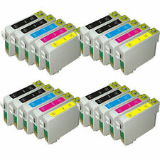 20 Printer Ink Cartridges Replace For Epson DX4450 DX5000 DX5050 DX6000 DX6050