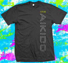 Aikido Martial Arts  - T Shirt -  6 colour options - Small to 3XL - New