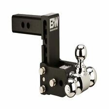 "B&W HITCHES TS20048B Tow & Stow Tri-Ball Hitch 1 7/8"" x 2"" x 2 5/16"""