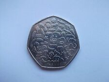 WWF ANIMALS WILDLIFE FUND PANDA 2011 RARE 50p Coin Hunt 50 Pence Money 99p