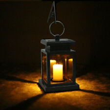 Outdoor Solar Powered Candle Lantern Light Garden Landscape Path Decor Lamp