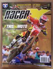 Racer Illustrated Motocross Aug Thriller Gaylon Mosier Aug 2015 FREE SHIPPING!