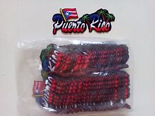 "50  Puerto Rico Flag / Tree Embroidered Patches 4.75""x2.25"""
