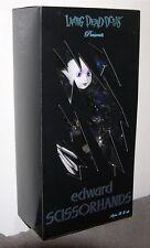 Living Dead Dolls EDWARD SCISSORHANDS Doll 2005 SDCC Exclusive Figure MEZCO RARE