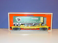 LIONEL - # 6 - 52397 - VERMONT  RAILWAY TRAILER on D&H  FLAT - Uncataloged NETCA