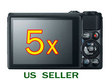 5x Clear LCD Screen Protector Guard Cover Film For Canon PowerShot S120 Camera
