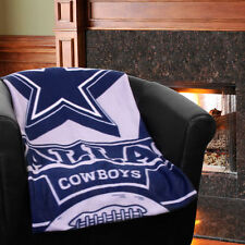 Dallas Cowboys 50'' x 60'' Marque Fleece Throw Blanket - Navy Blue - NFL