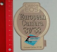 Aufkleber/Sticker: Canon EOS Camera 87/88 (15061688)
