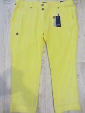 CECIL SOMMER HOSE VALENCIA W36/L26 NEU Low Rise*Loose Fit*Tapered Leg GELB