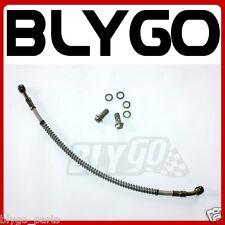 10mm Banjo 405mm Oil Cooler Radiator Hose Line PIT PRO Quad Dirt Bike ATV Buggy