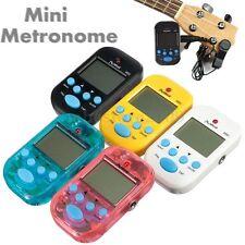 LCD Digital Multi-functional Portable Beat Tempo Mini Metronome Brand New Colors