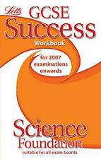 LETTS ___ GCSE SUCCESS WORKBOOK SCIENCE FOUNDATION ___ BRAND NEW ___