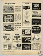 1967 PAPER AD Revell 1/8 Scale Model Kit Hinda Super Hawk Scrambler Doll House