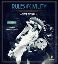 Rules of Civility: A Novel 2011 by Towles, Amor 0142429279 Ex-library