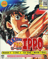 Hajime no Ippo Season 1 - 3 (127 Episodes + Movie + OVA) DVD Box Set English Sub