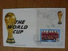 30/06/1986 World Cup Postal Cover: CC 1045 - The World Cup & Trophy - Stamp: Can