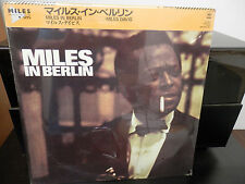 Miles Davis In Berlin Promo Japan Import LP Still Sealed  Mint