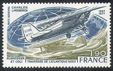 France 1977 Planes/Aircraft/Flight/Aviation/Transport/Lindbergh 1v (n23249)