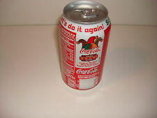 SUPER BOWL XXXVI SODA COKE CAN PATRIOTS RAMS VERS. B NFL 2002 NEW ORLEANS ISSUE