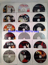 Lot of 15 DVDs  -  Previously Viewed Different  -  Genre & Ratings