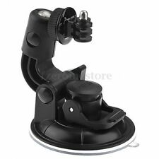 Suction Cup Mount &Tripod Mount & Nut Car For GoPro Hero 2 3 3+ 4 Session Camera