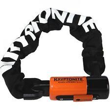 Kryptonite Evolution Series 4 1055 Integrated Heavy Chain Bike Lock - 10mmx55 cm