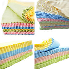 100x Microfiber Cleaning Cloth Camera Lens Phone Screen Glasses Square Cleaner