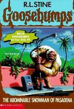 Goosebumps: The Abominable Snowman of Pasadena #38 by R. L. Stine (1995, Paperba
