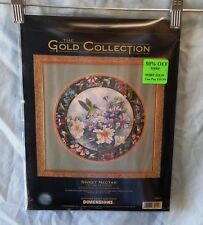 DIMENSIONS GOLD COLLECTION SWEET NECTAR  COUNTED CROSS STITCH KIT  #35011