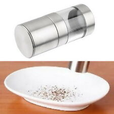 Manual Stainless Steel Salt Pepper Mill Grinder Muller Kitchen Tool UL