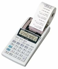 Casio HR-8TEPlus Printing Calculator with Adapter and memory
