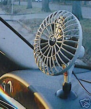 VENTILATEUR AUTO CAMPING CAR  NEUF 12V ALLUME CIGARE FIXATION NEUF